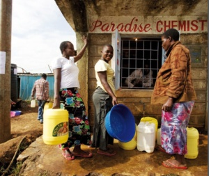 Accessing more reliable water in Kibera